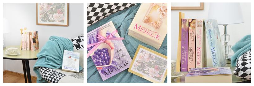 aranżowane zdjęcia książek na fb