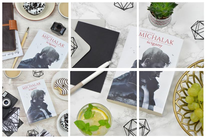 Aranżowane fotografie książki.