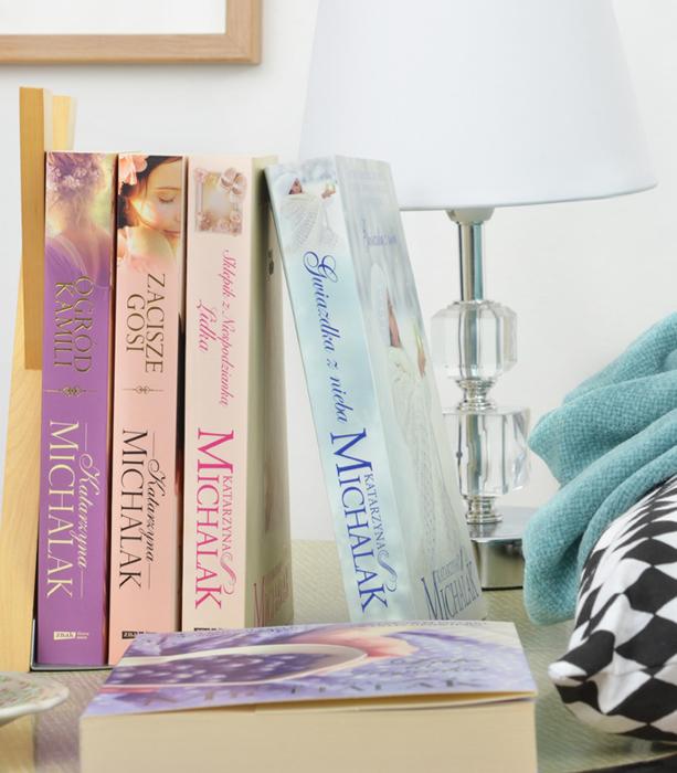 aranżacje książki instagram