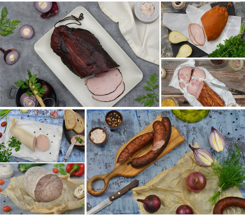 aranżowane zdjęcia jedzenia